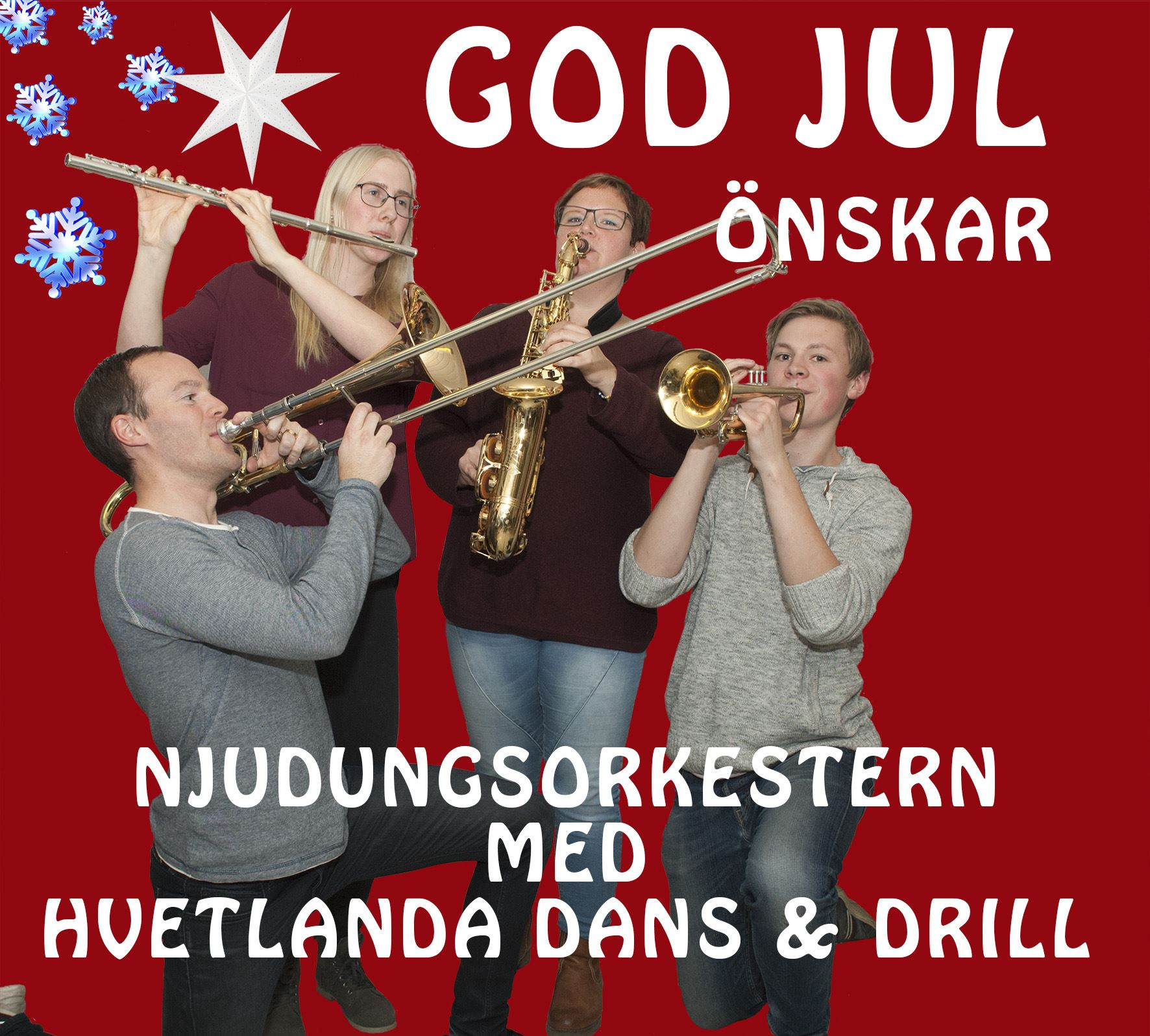 Njudungsorkestern spelar in julen