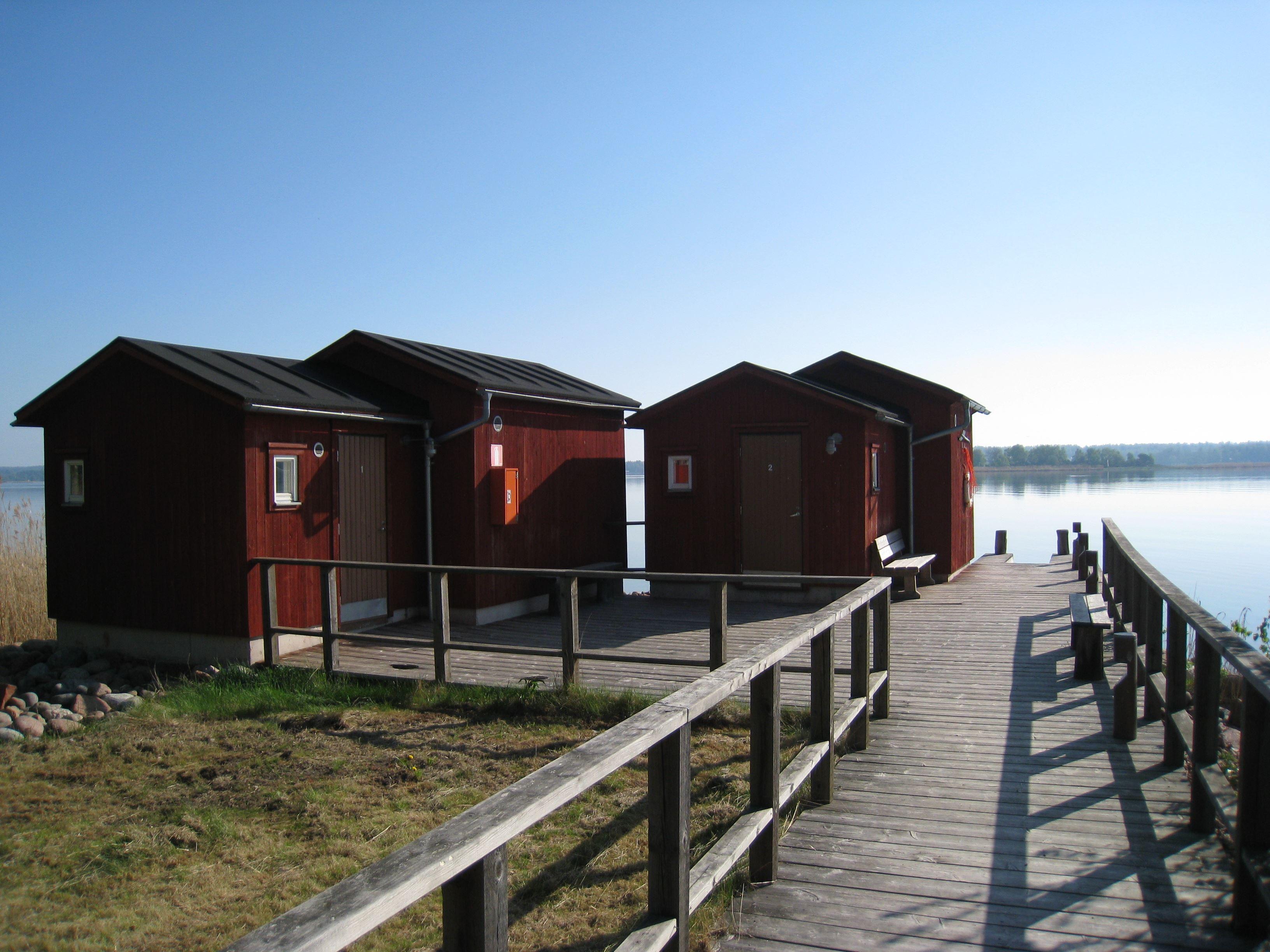 Gröna Udden, plats inkl el för husbil och husvagn