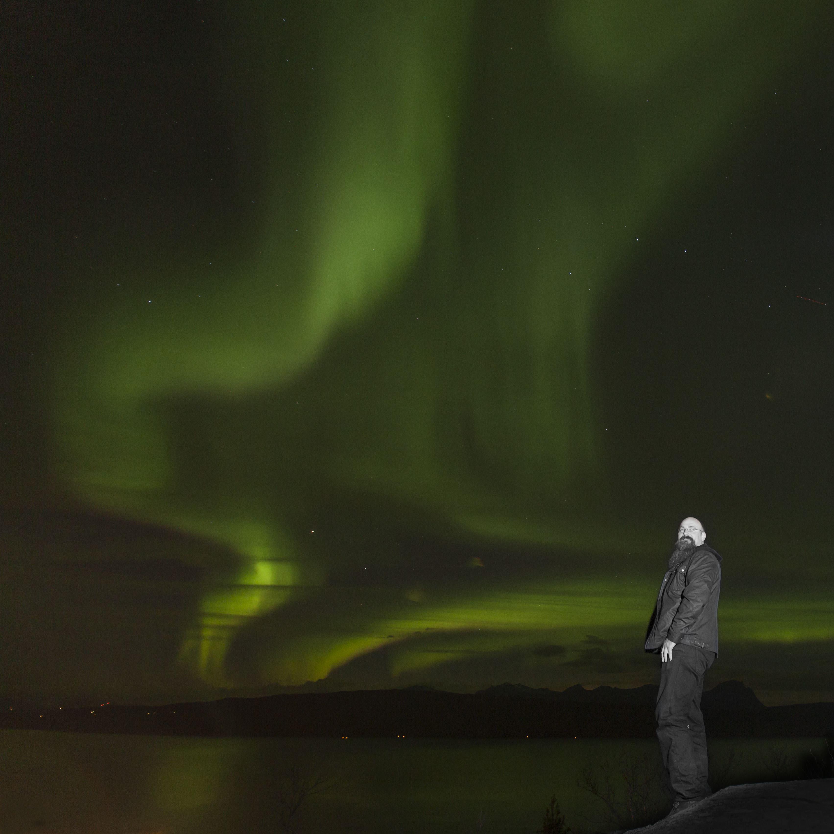 Nordlysjakt i den Arktiske Narvik Regionen
