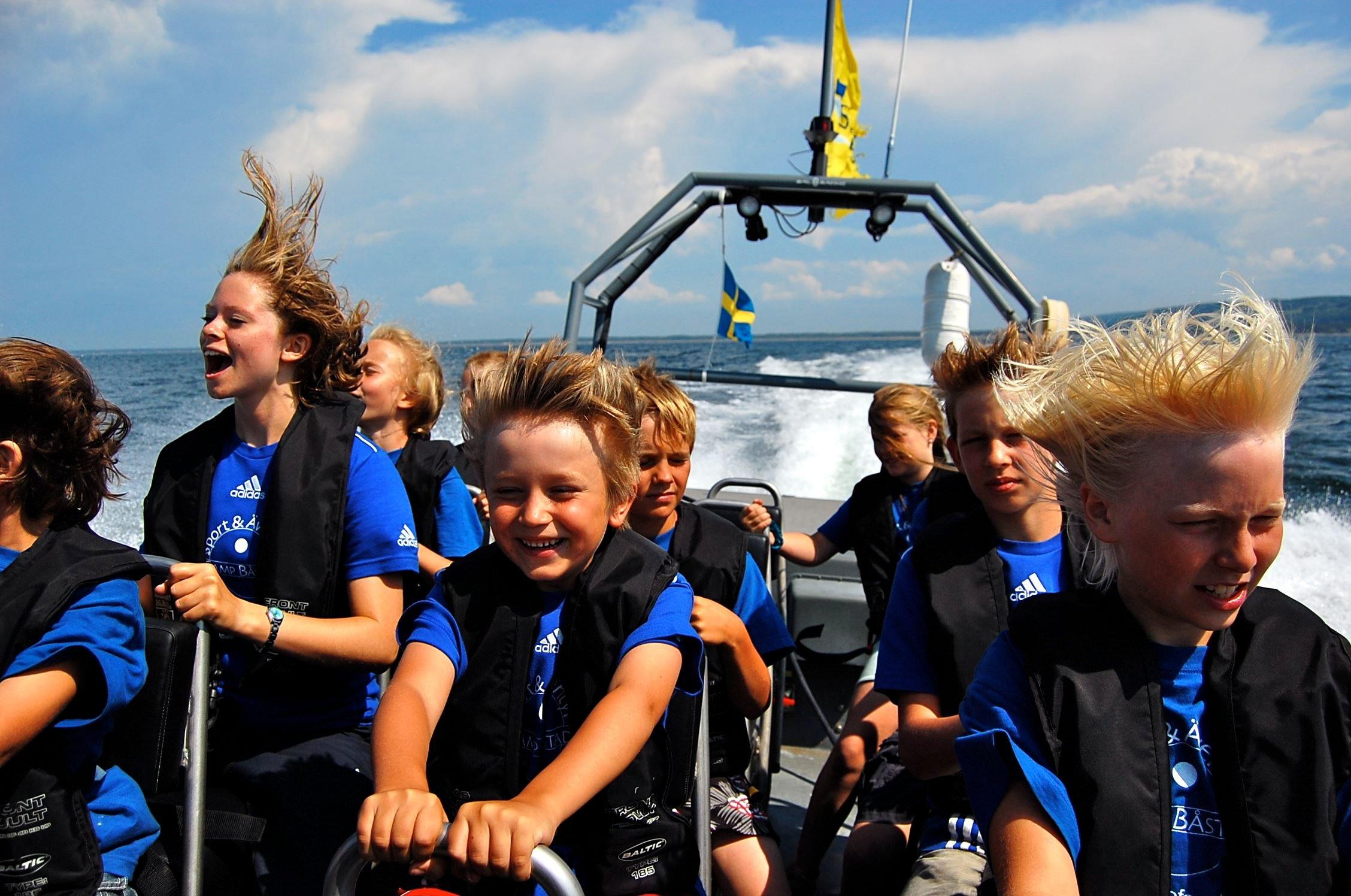 Sport & Adventure Camp Båstad for kids between 6-15 years.