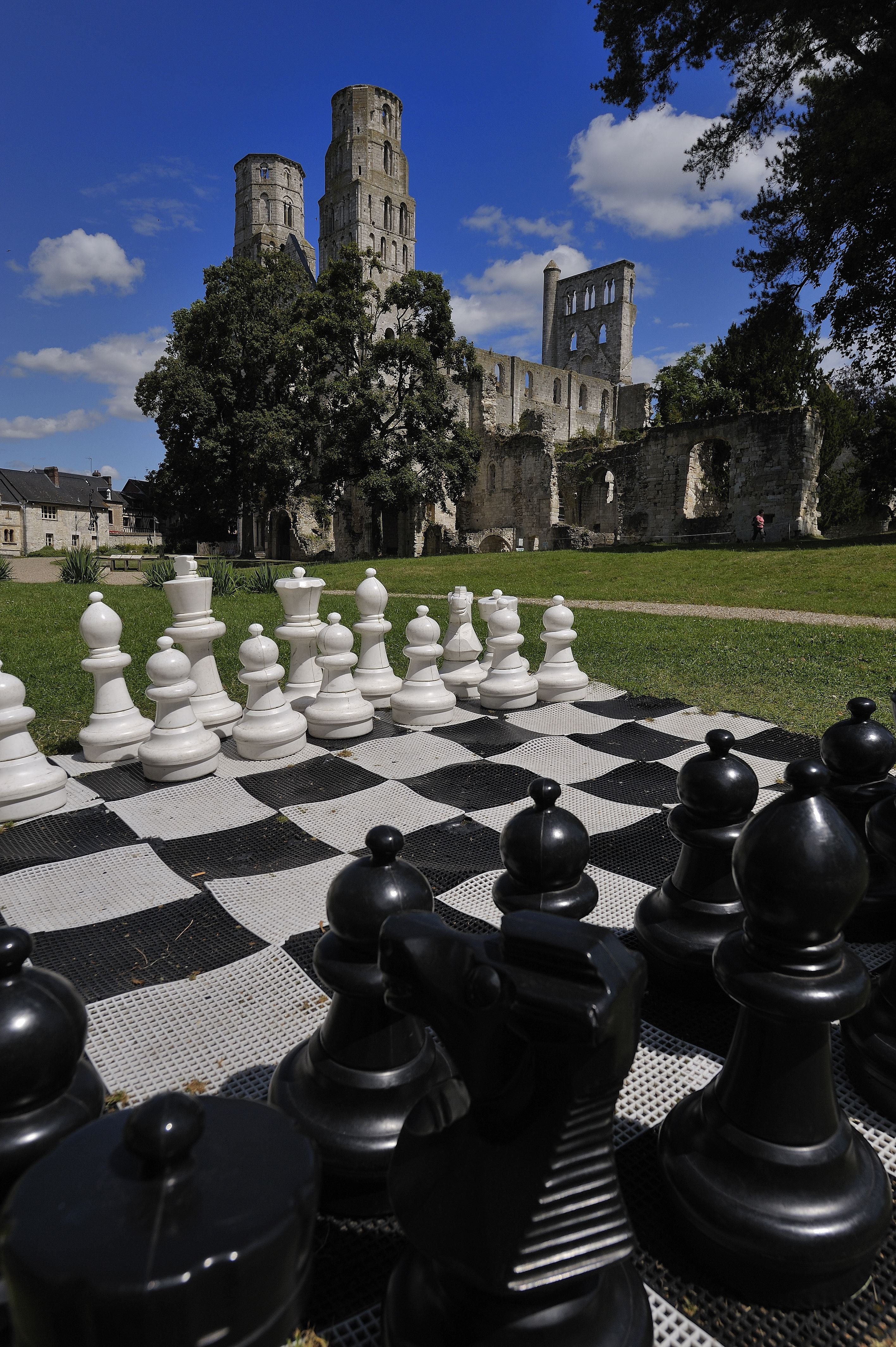 Jumièges au temps de Guillaume Le Conquérant : déjeuner médiéval et visite de l'abbaye