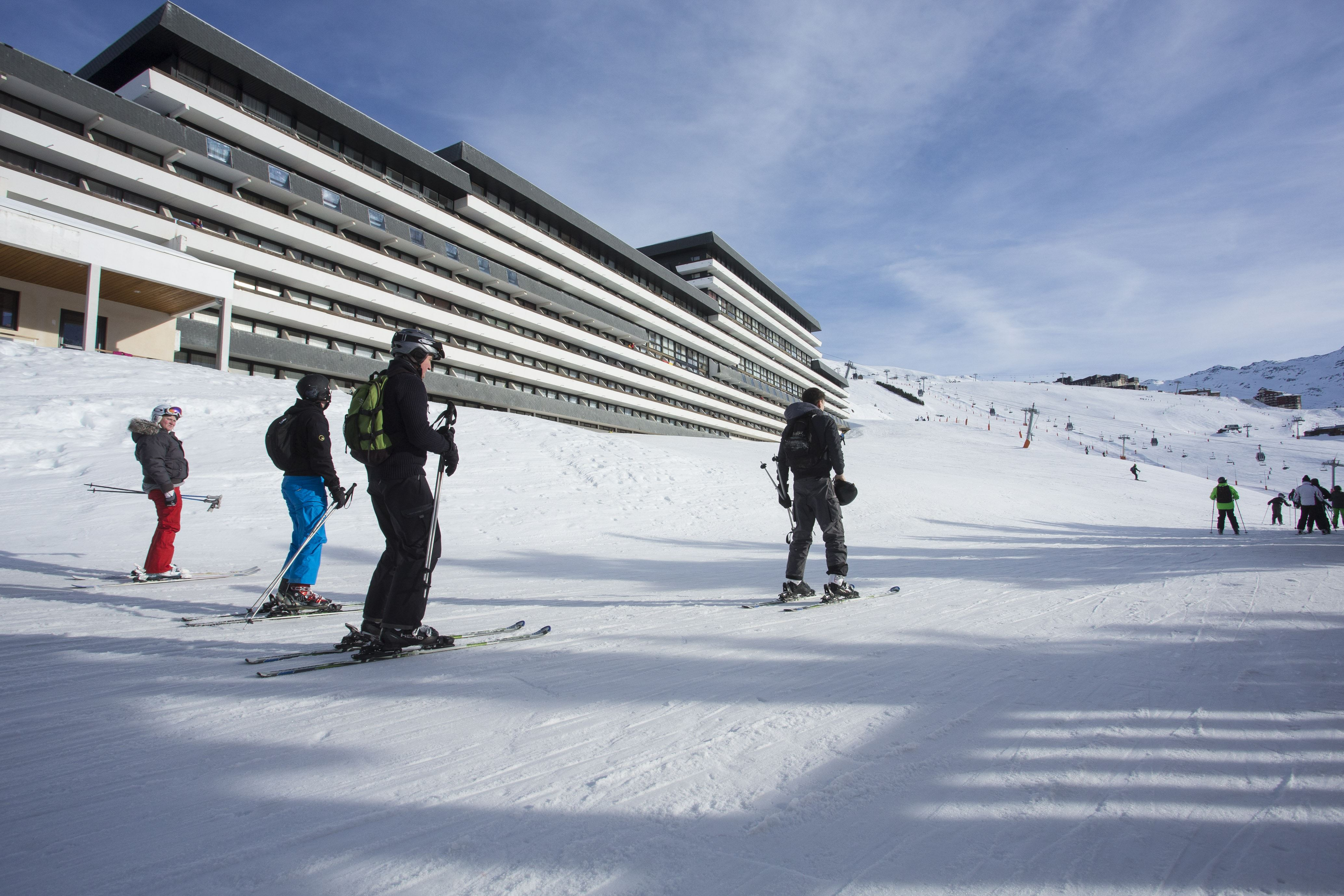 Residence ski-in ski-out / SOLEIL VACANCES LES MENUIRES