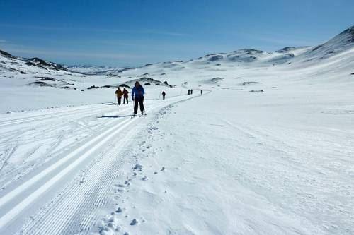 Påskens vakreste fjelleventyr, Haukeliseter - Hovden