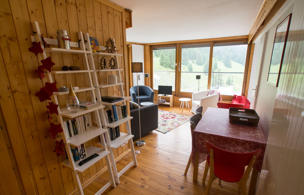 3 rooms 6 people ski-in ski-out / CROIX DES VERDONS (mountain of charm)