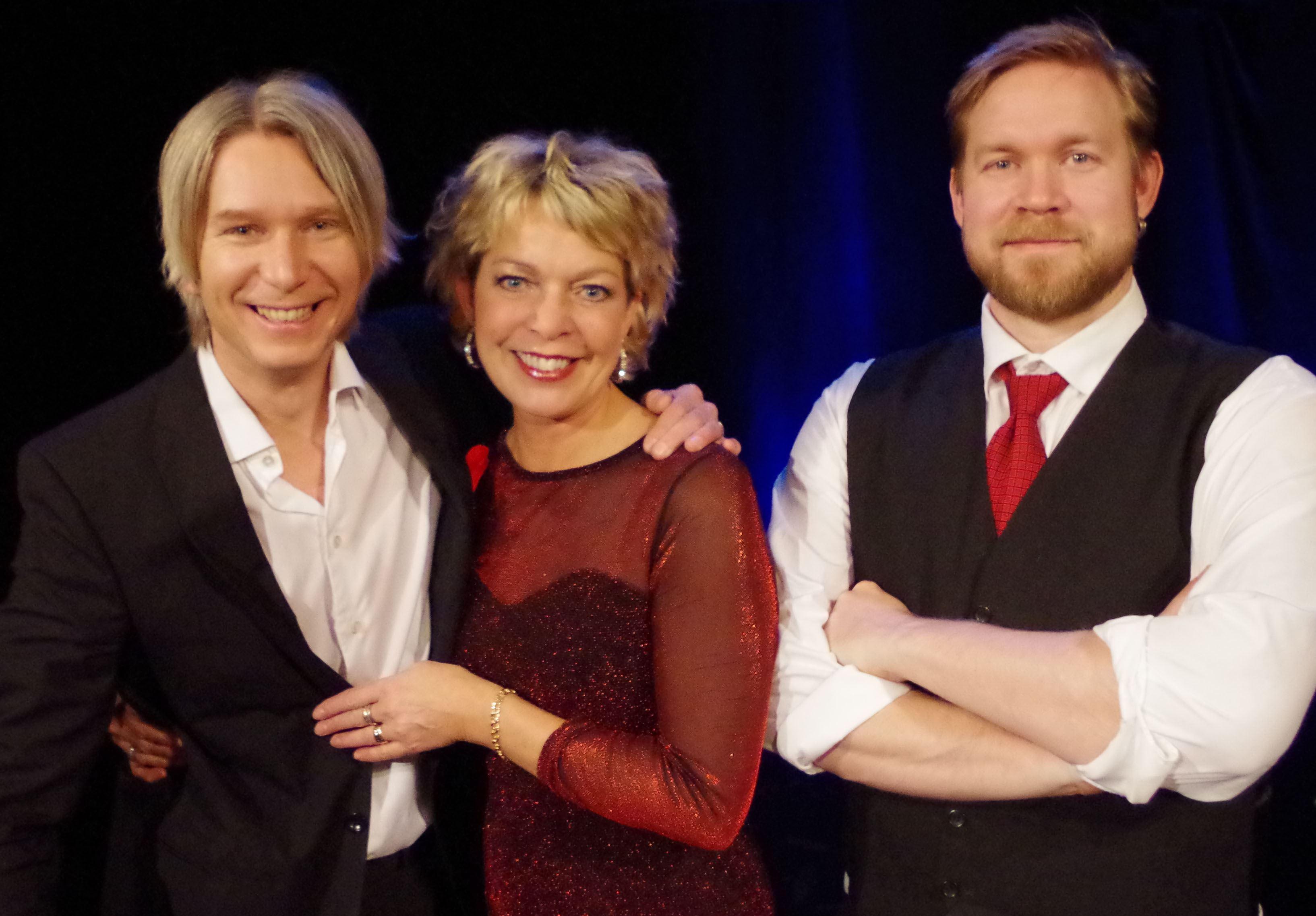 Julkonsert i folkviseton med Öberg, Wachenfeldt & Gill