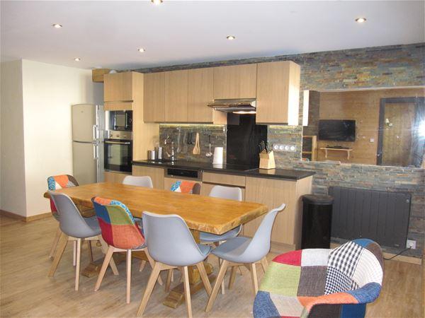 Lauzières 620 > 5 Rooms in Duplex - 8 Persons - 4 Gold Snowflakes (Ma Clé IMMO)