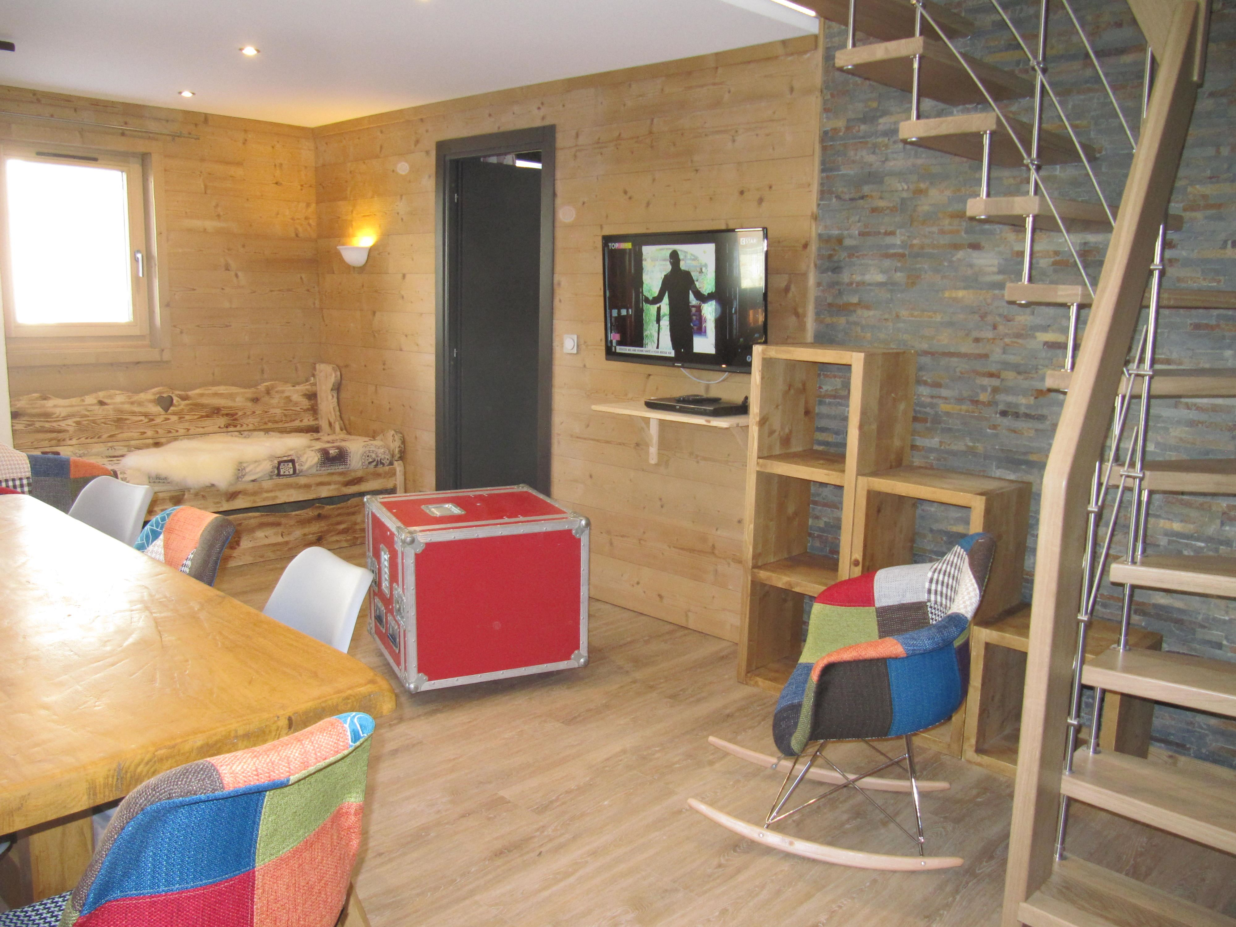 Lauzières 620 > 5 Rooms in Duplex - 8 Persons - 4 Gold Snowflakes (Ma Clé IMMO)