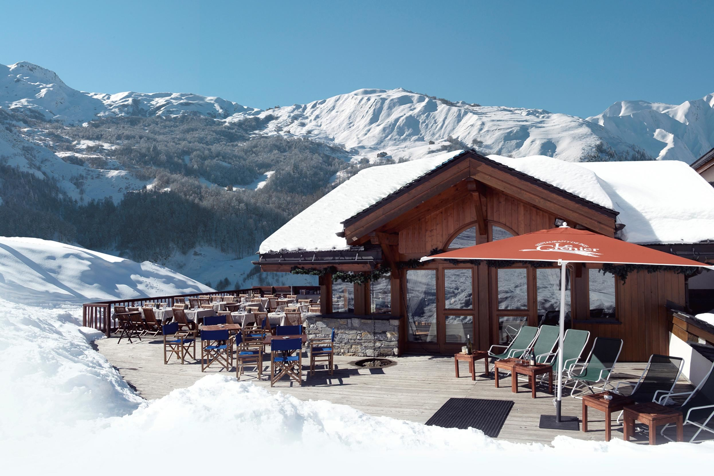 "Hotel ski-in ski-out / HOTEL SAINT MARTIN (4,5 Snowflakes ""Gold"")"