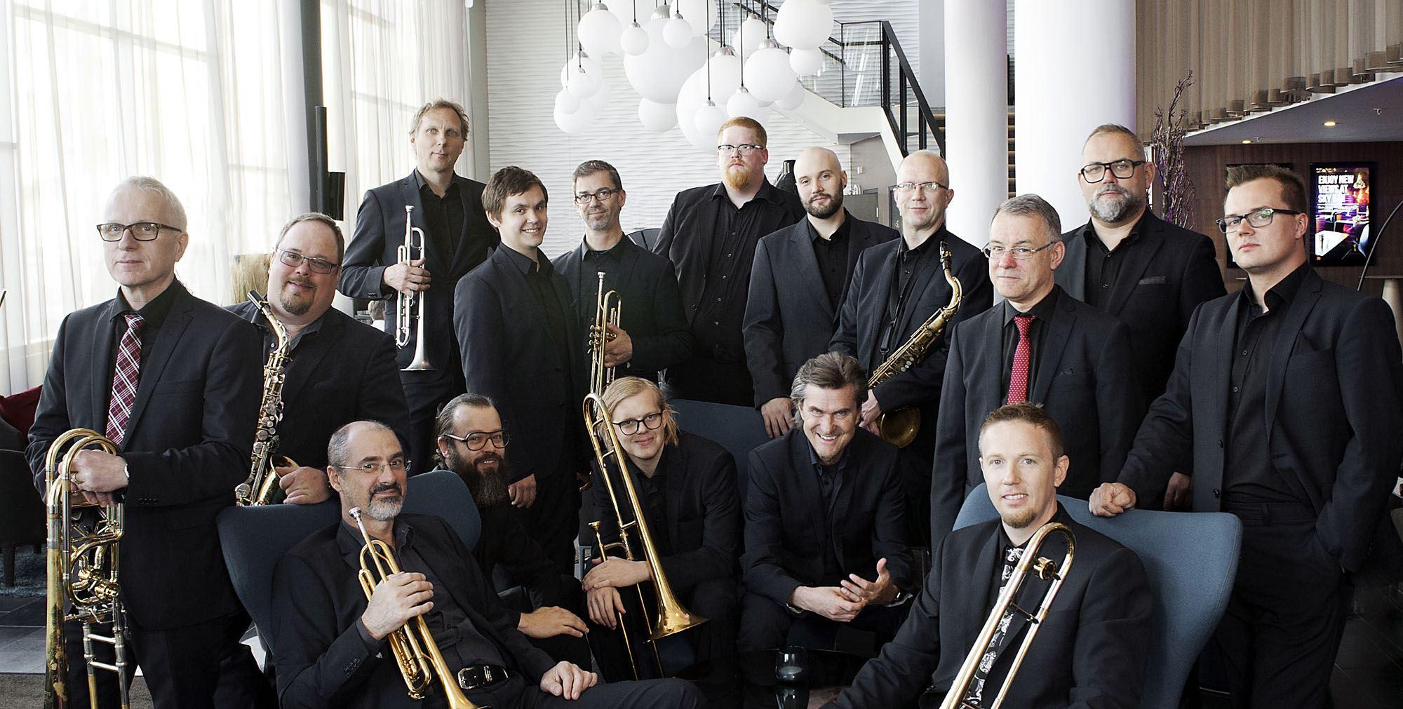Emil och Pippi, Norrbotten Big Band med Sara Riedel - Jazz i Jemtland