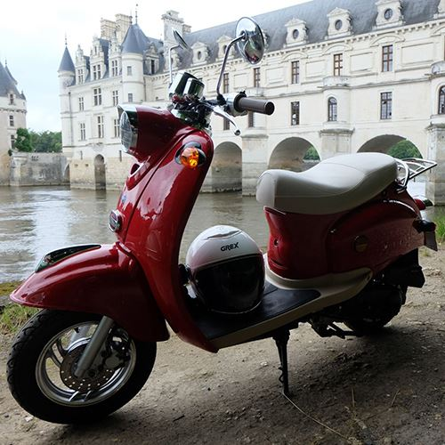 Excursions accompagnées en scooter 50 ou 125 cc - Minimum de 3 participants