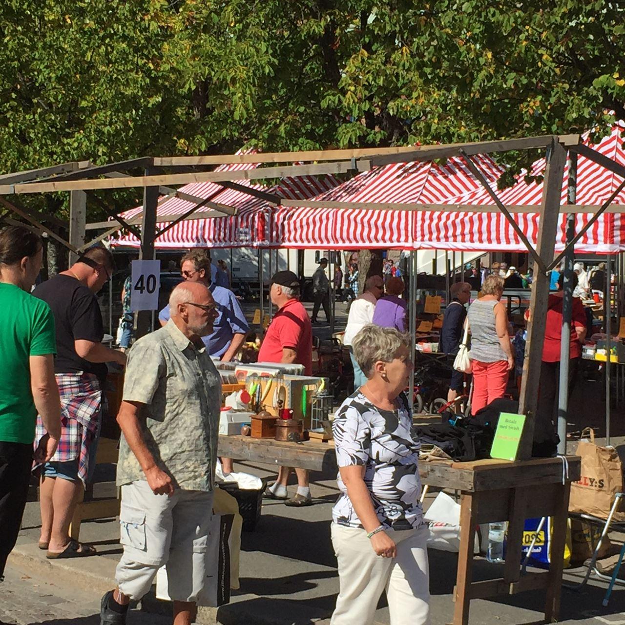 © VT, Flohmarkt in Vetlanda