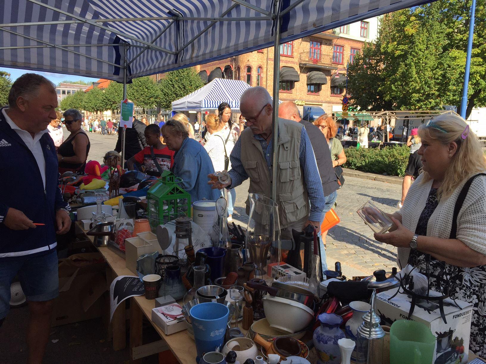 Flohmarkt in Vetlanda