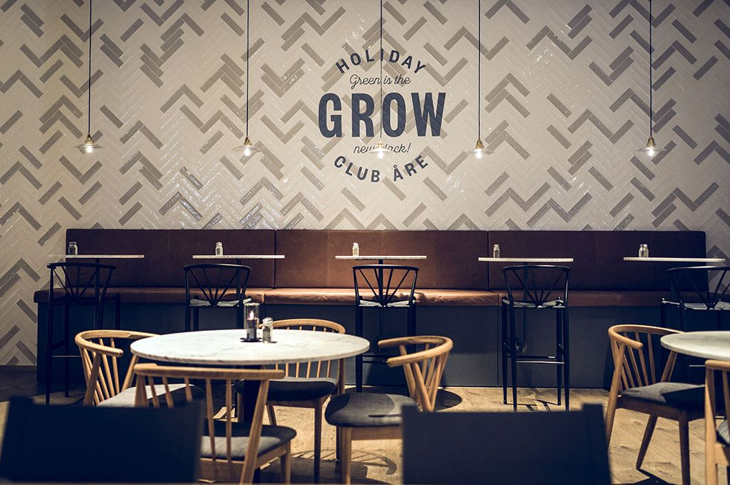 Restaurant Grow - green is the new black