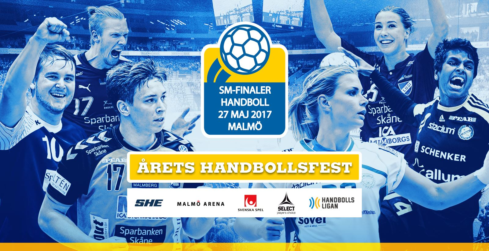 SM-finaler i handboll 2017