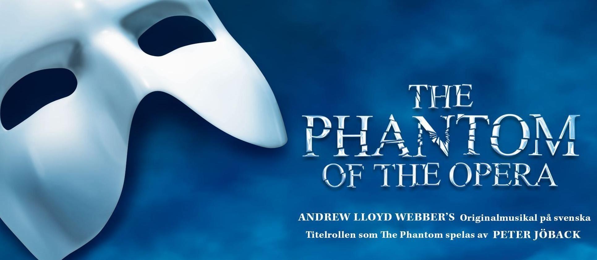 Teaterresa med Ludvika teaterförening - The Phantom of the Opera