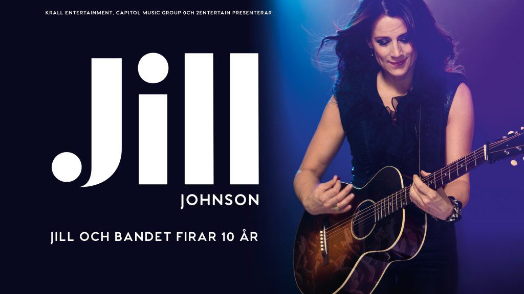 Concert with Jill Johnson at the Tennis Stadium in Bastad