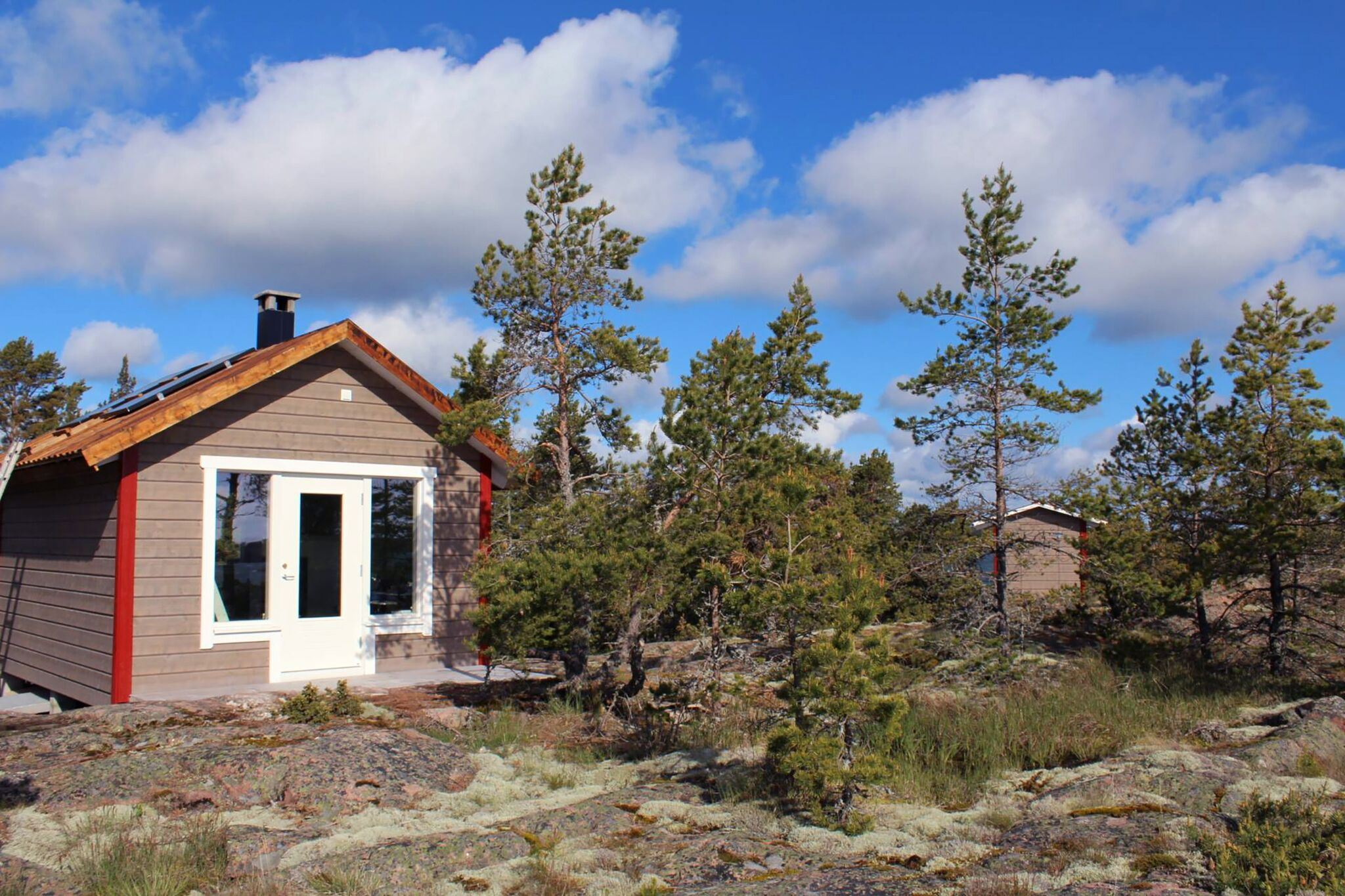 Sandösund Resort: Hermit Cottage on island Gyllenklobb