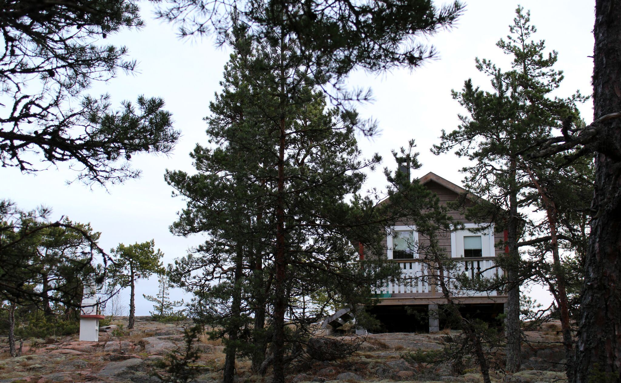 Sandösund Resort and Hermit Cottage on island Gyllenklobb