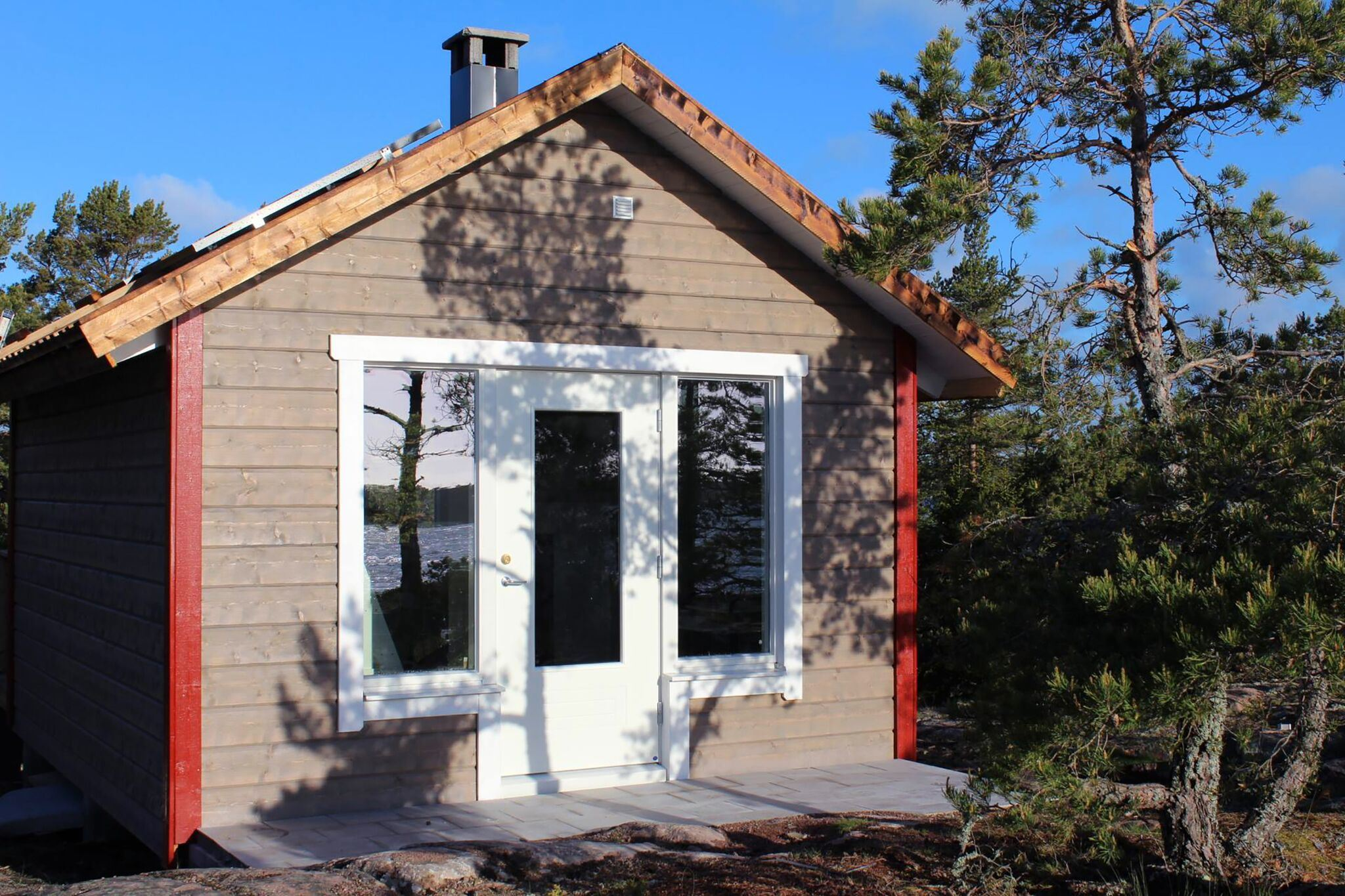 Sandösund Resort: Hemit Cottage on island Gyllenklobb