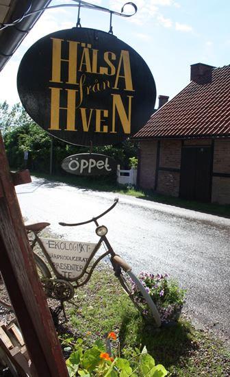Hälsa från Hven, Hälsa från Hven - Mini-spa och butik