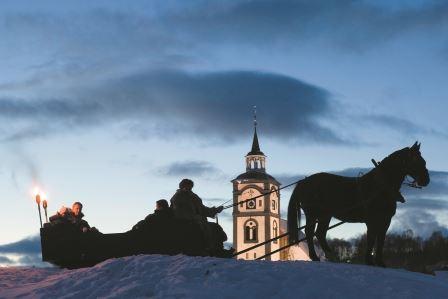 Martnaskanefart- Hest og sledetur