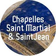 Saint-Martial - Saint-Jean, les Chapelles privées du Pape 15h00