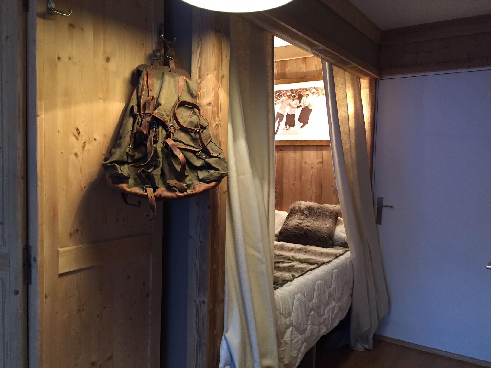 Cimes de Caron 2706 > 2 Rooms - 3 Persons - 2 Silver Snowflakes (Ma Clé Immo)