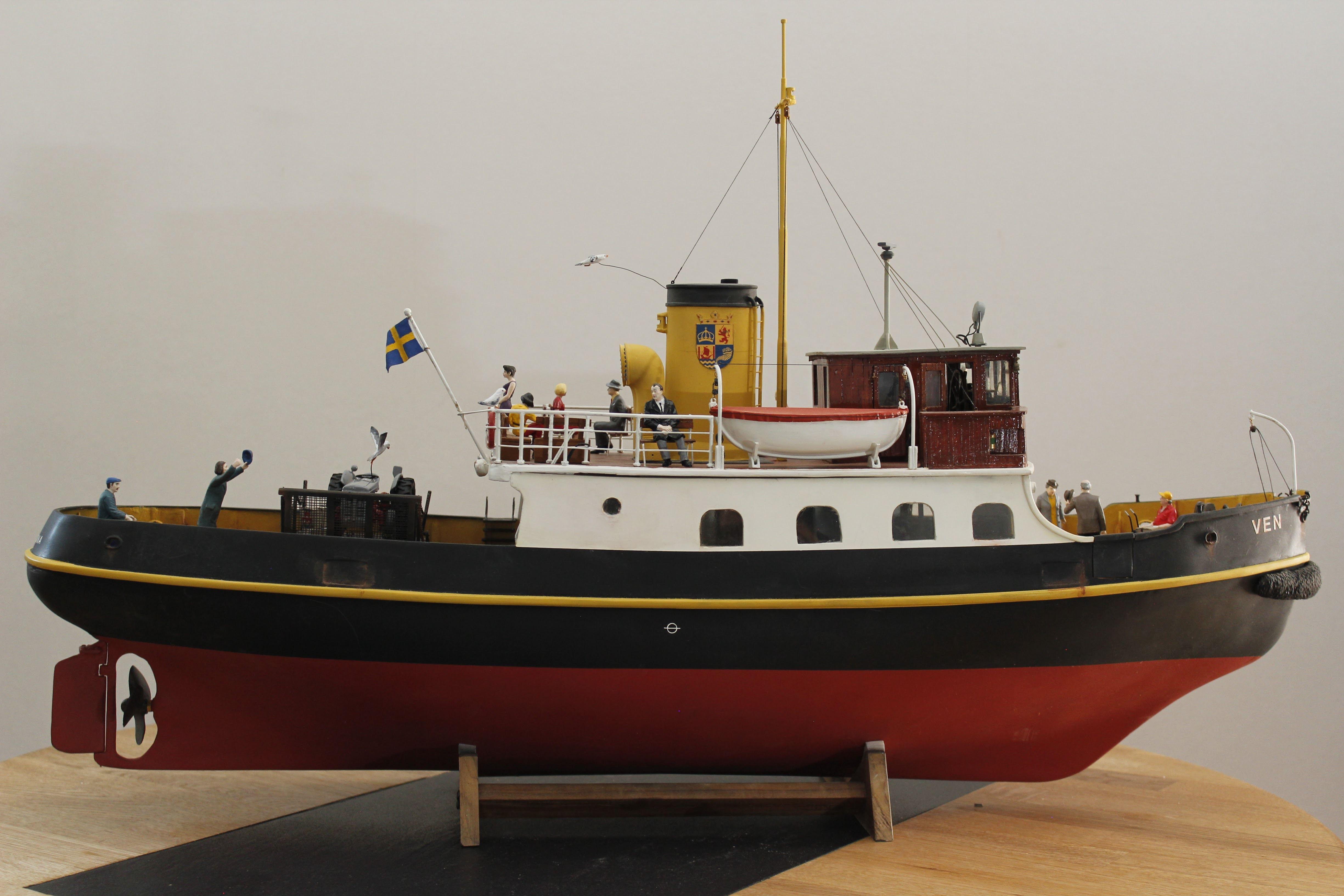 Lars Jacobsson - båtmodeller