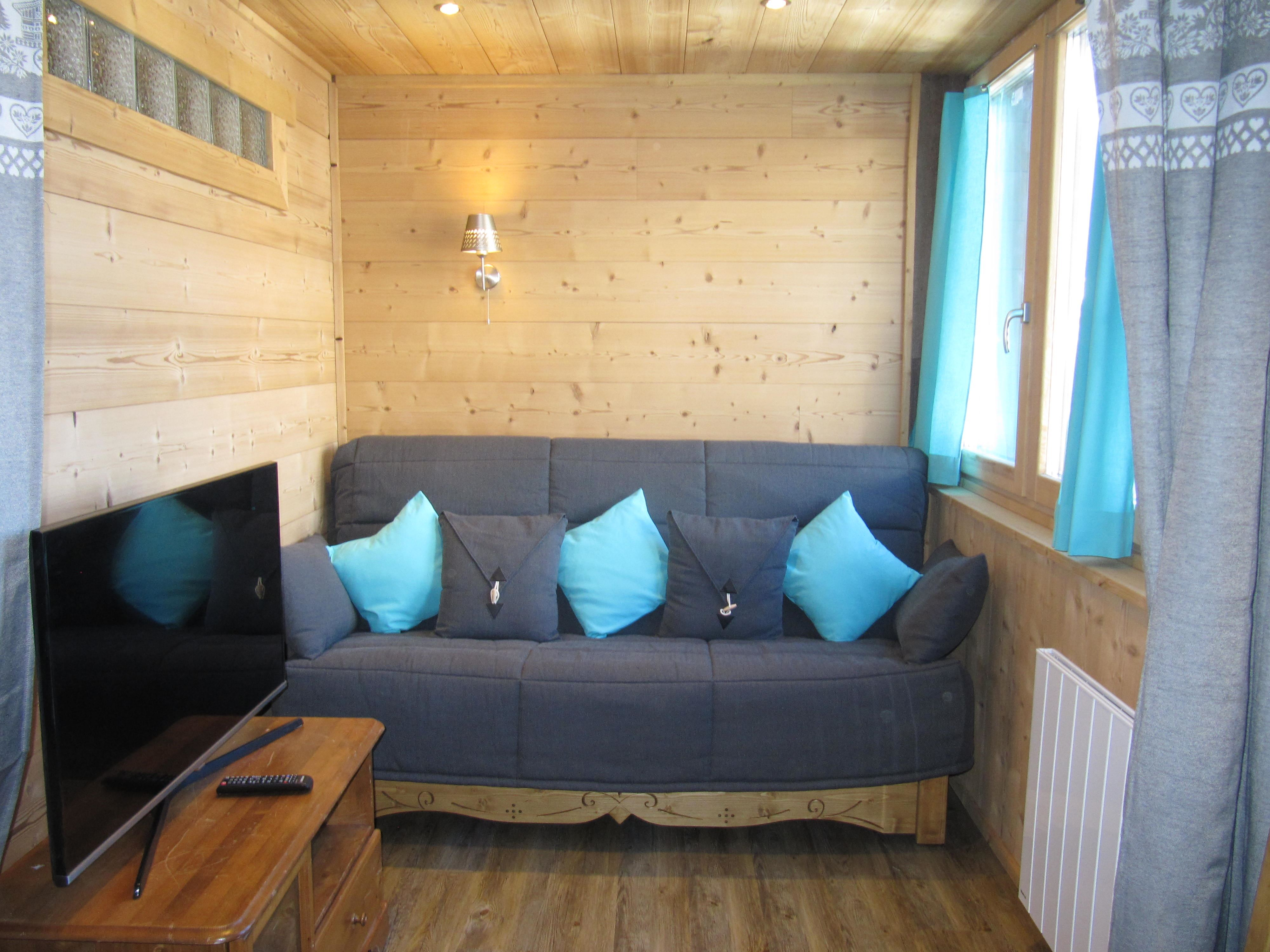 L'Arcelle 411 > 2 rooms + cabin - 6 People - 2 Snowflakes silver