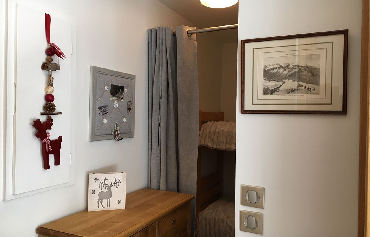 2 rooms cabin 6 people ski-in ski-out / DOMAINE DU JARDIN ALPIN R7A (mountain of charm)