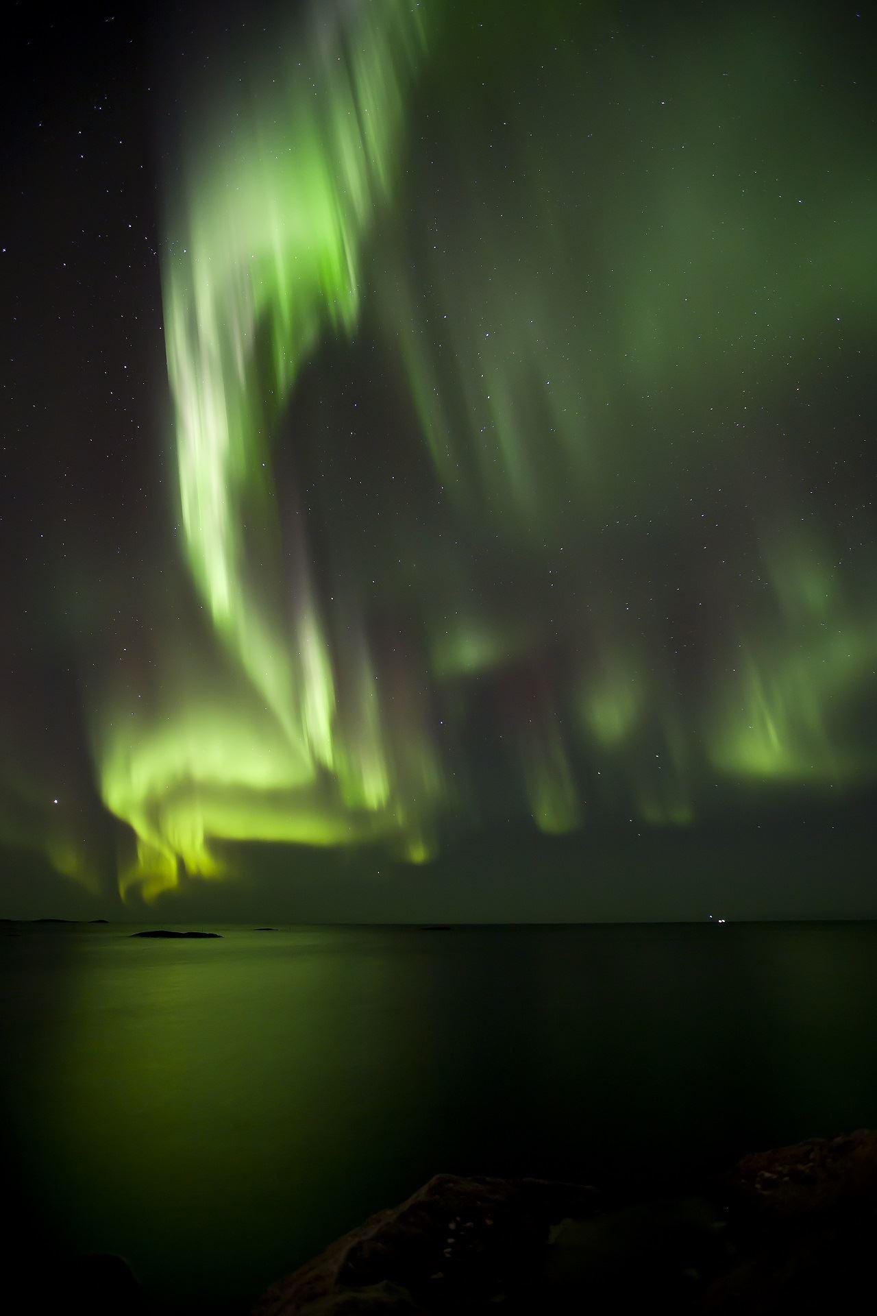 Nordlys observasjon fra Andenes