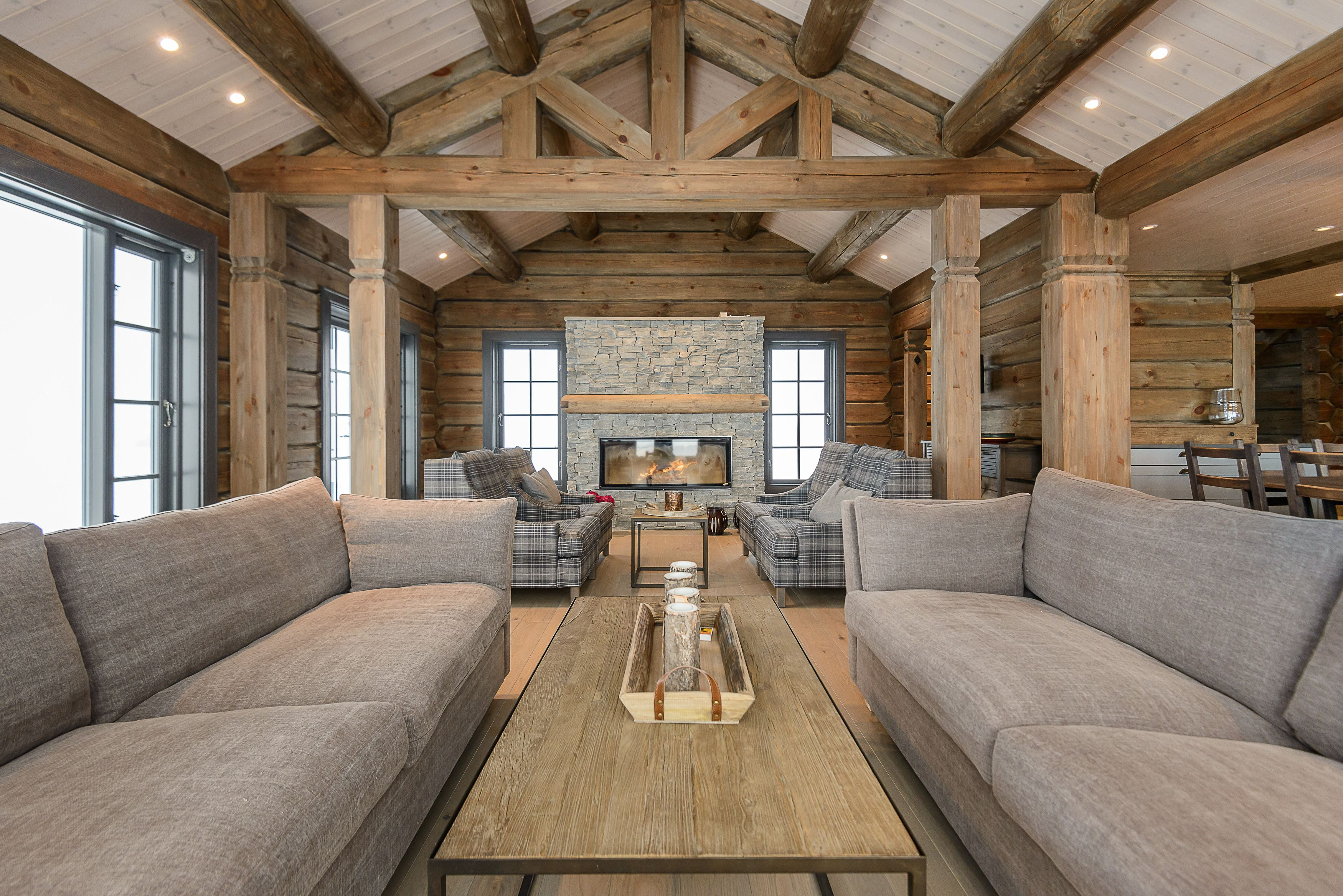 Luxury chalet at Hafjell