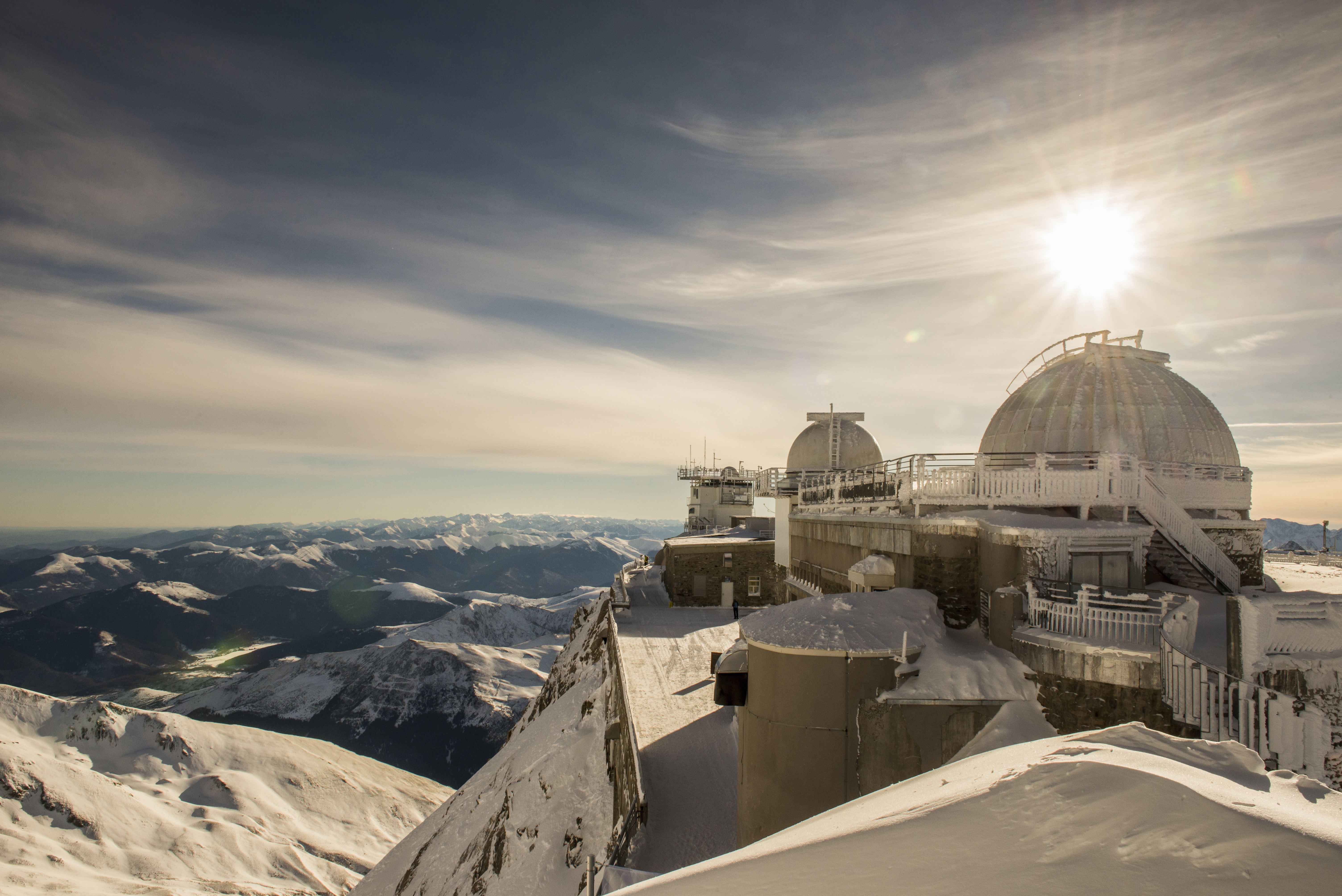 """Noche en la cumbre del Pic du Midi """"Bacchus"""""""