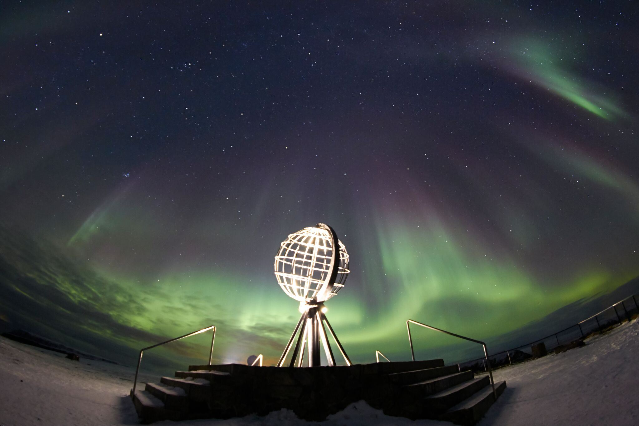 Adventure to the North Cape by Night and Hunt for the Aurora Borealis