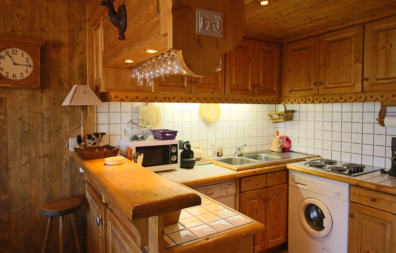 4 rooms 6 people / LES MARMOTTES (mountain of charm)