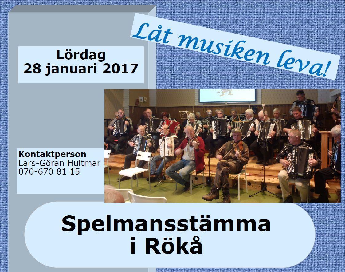 Spelmansstämma i Rökå - Låt musiken leva!