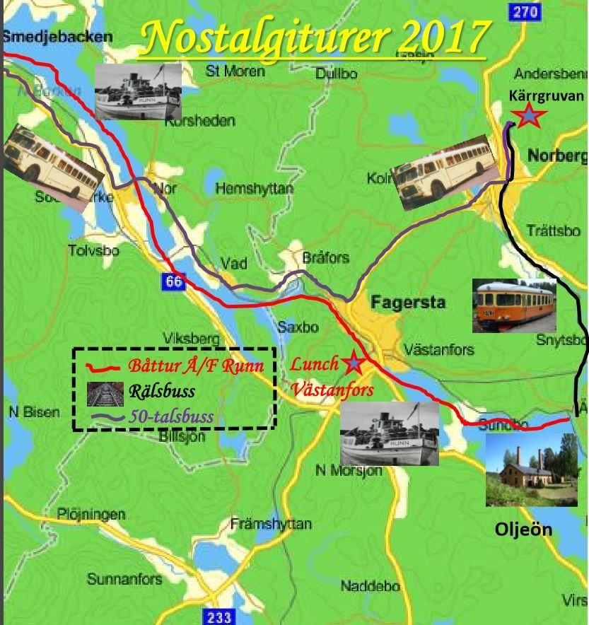 Nostalgitur med ångbåt Å/F Runn