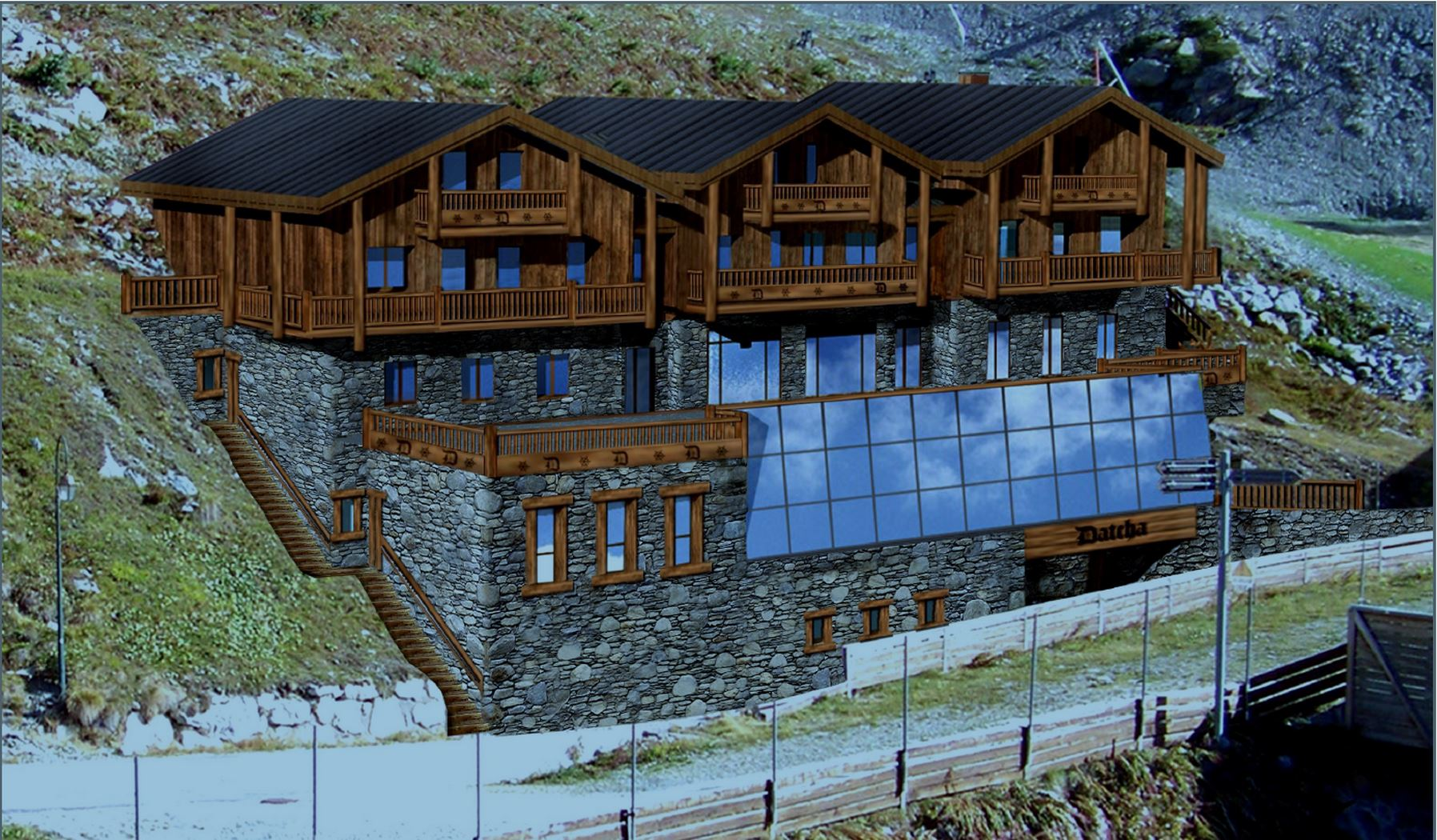 NEW AND EXCEPTIONAL: LUXURY GUEST CHALET LA DATCHA - PRIVATE CHALET - 1200 m² - 15 persons