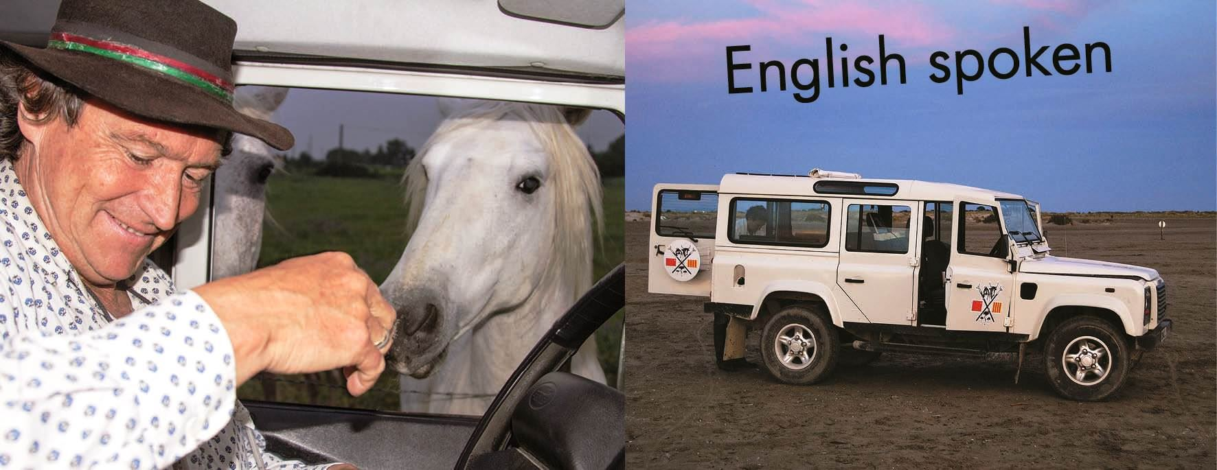Discover, understand and love Camargue in 4X4 with Phil!