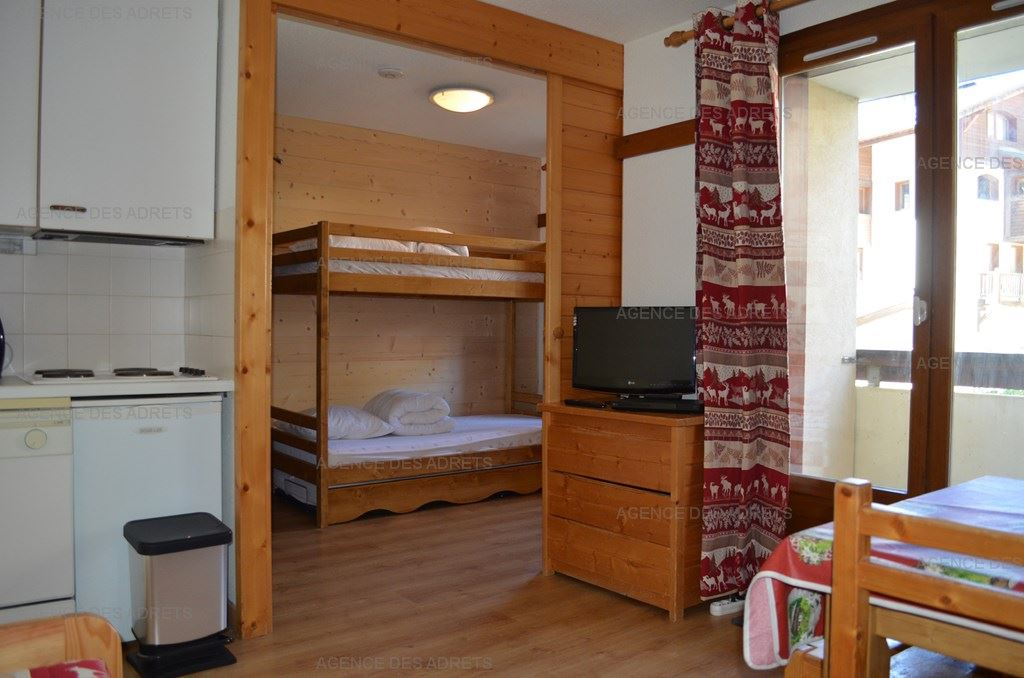 REINE BLANCHE 001 - APARTMENT 2 ROOMS CABIN - 5 PERSONS - 2 BRONZE SNWOFLAKES - ADA