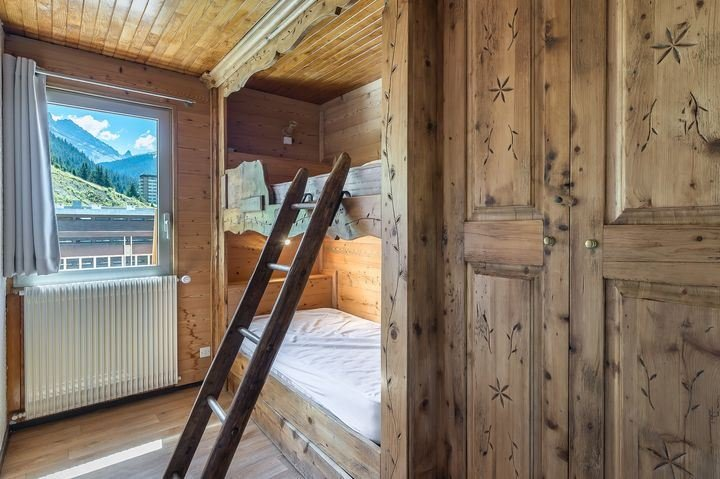2 rooms 5 people ski in-ski out / OURSE BLEUE 903 (Mountain)