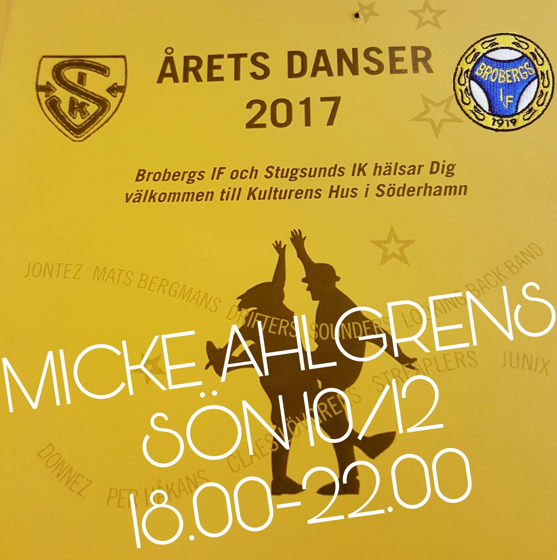 Dansa till MICKE AHLGRENS