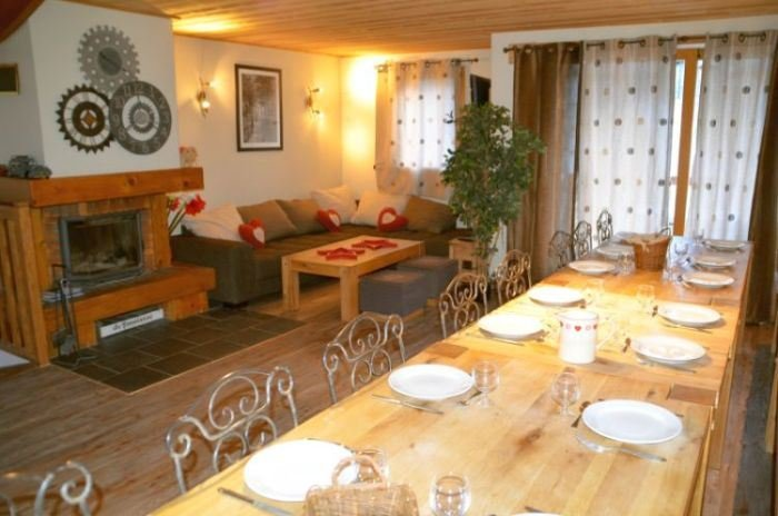 10 Rooms 18/20 Pers / CHALETS DE LA VILLETTE 12