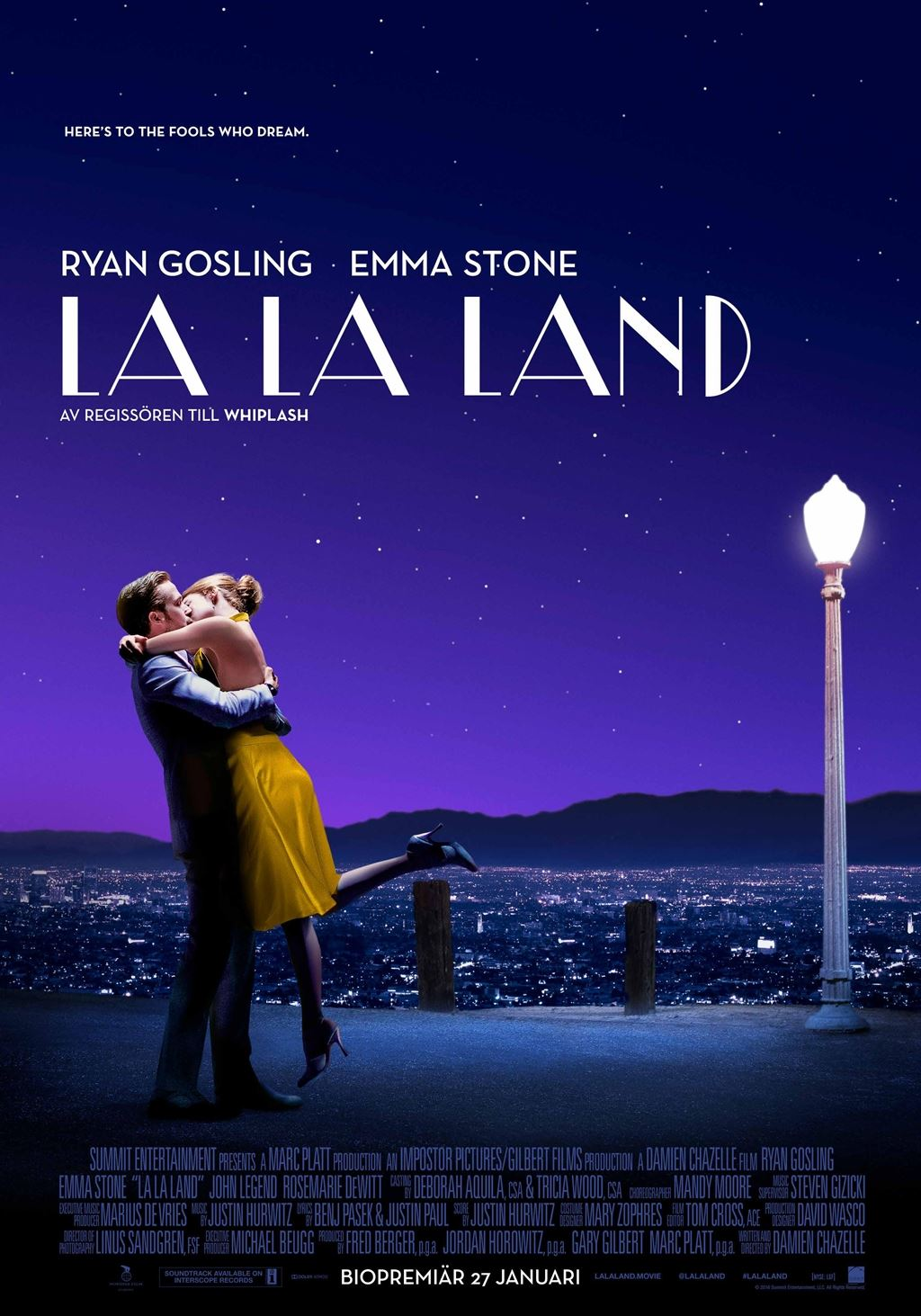 © Nordisk Film AB, Bio: La La Land