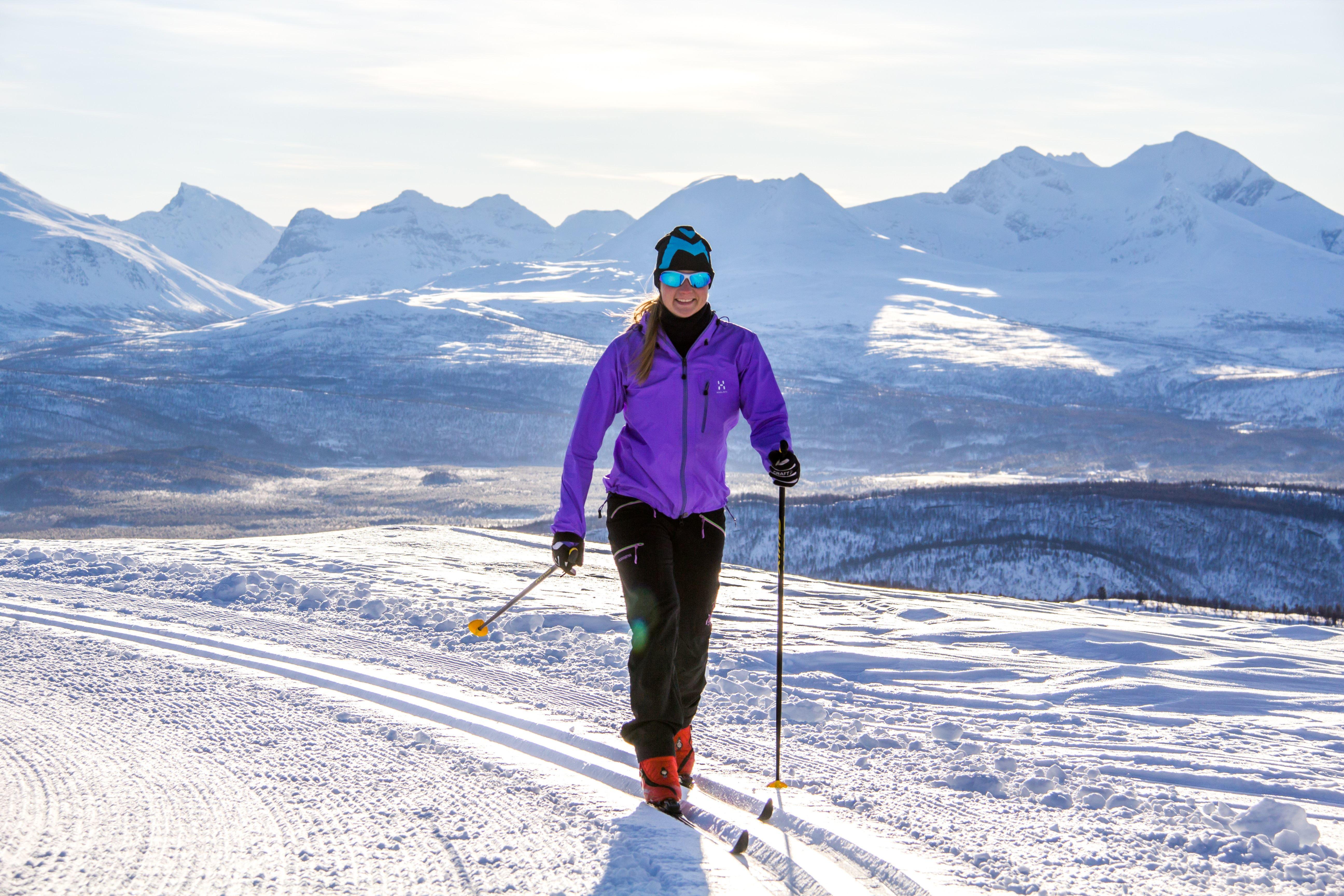 Aurora Cross-country skiing - Målselv Mountain Village