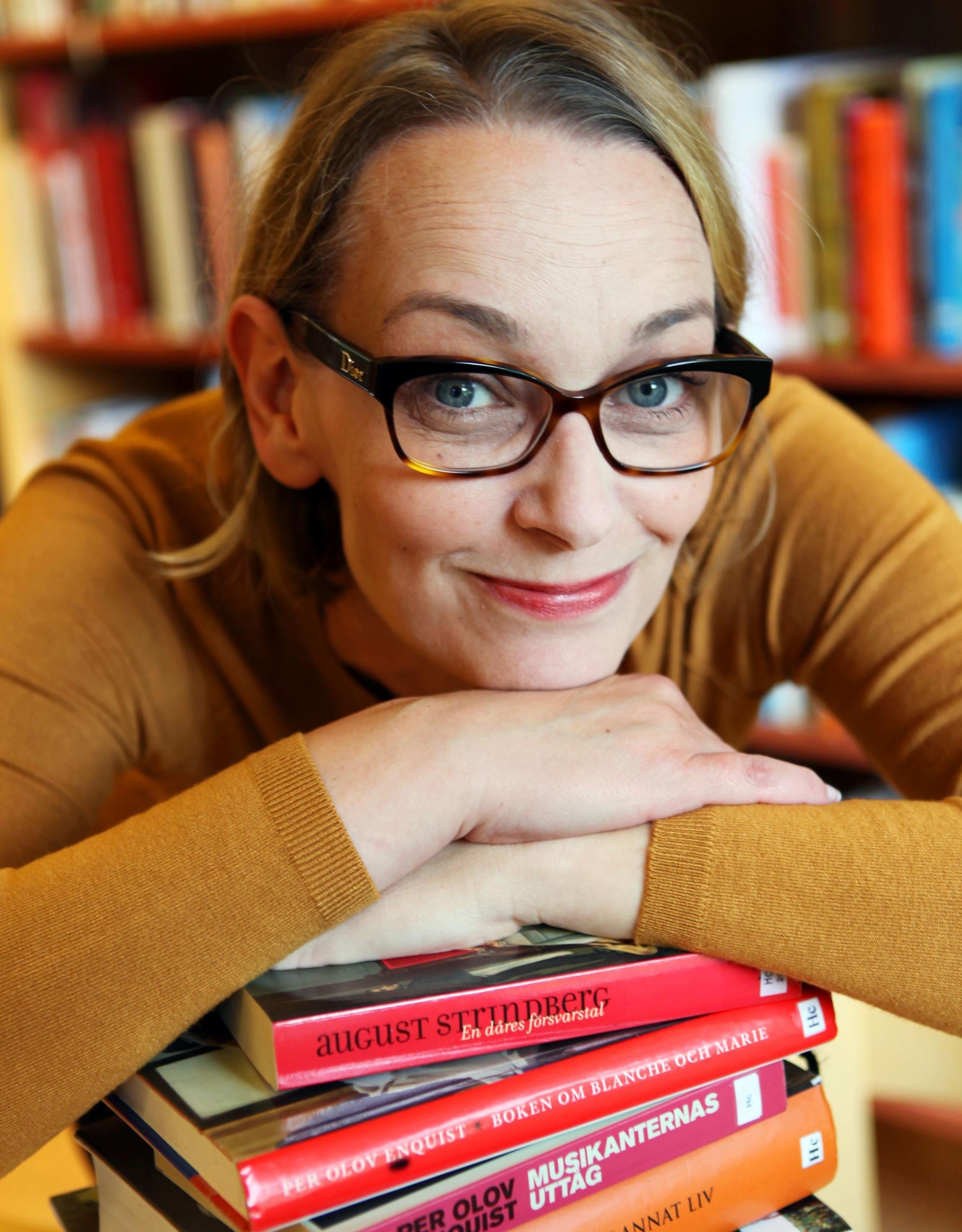 Författarbesök med Nina Frid