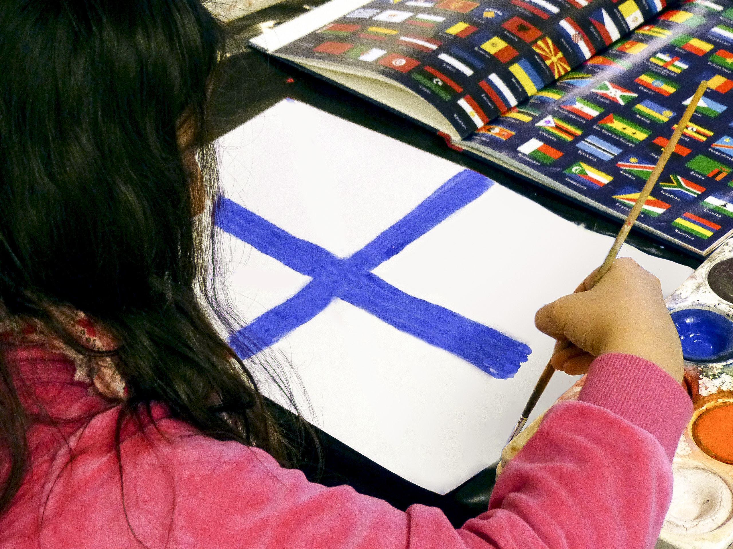 Kulturlödag - Flagg-workshop
