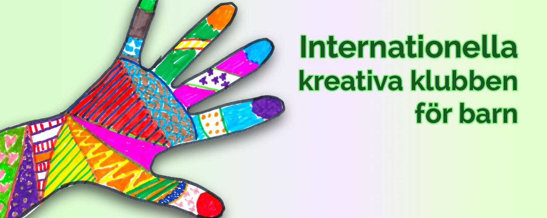 Internationella kreativa klubben för barn i Barn- och ungdomsbiblioteket