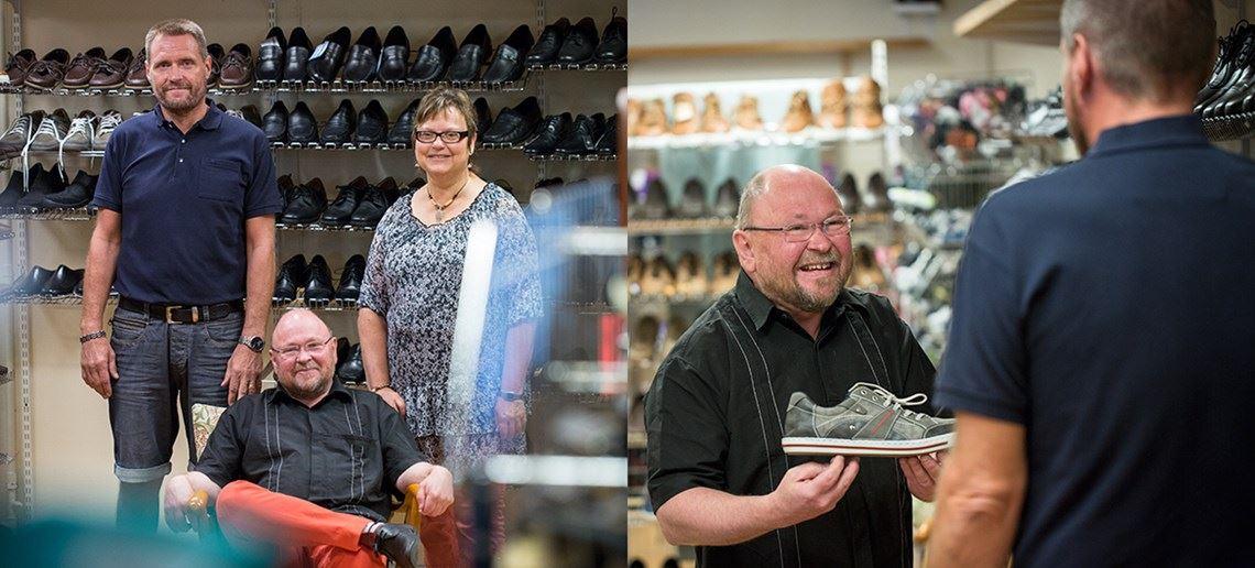 Nymans skor
