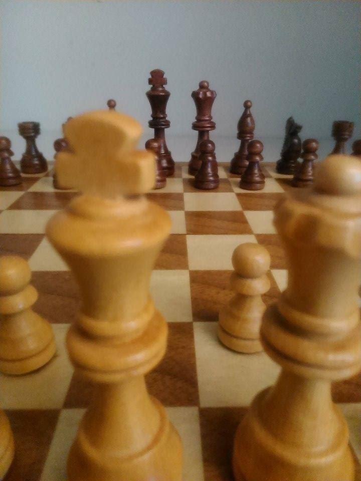Schackklubb med Henrik